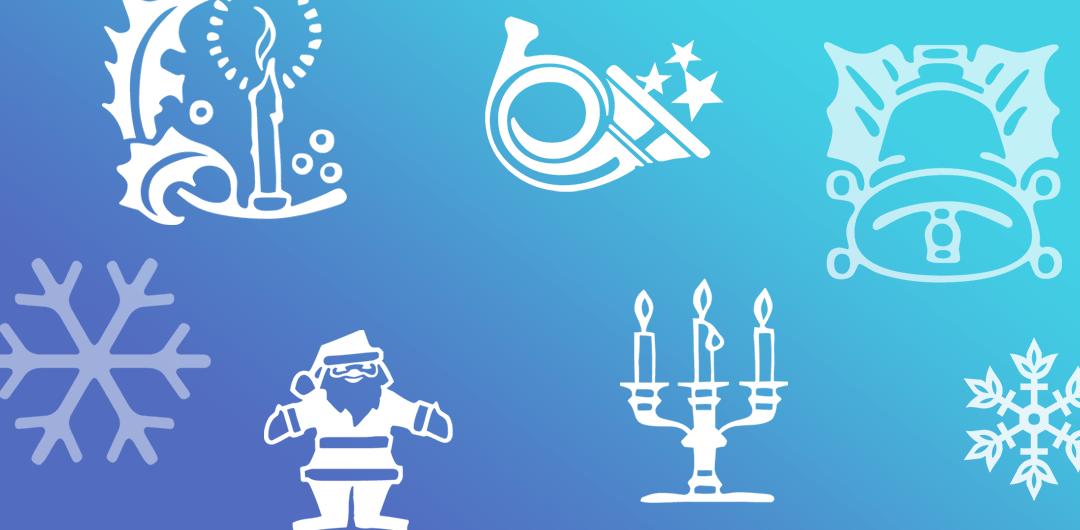 sticker: Christmas Ornaments image