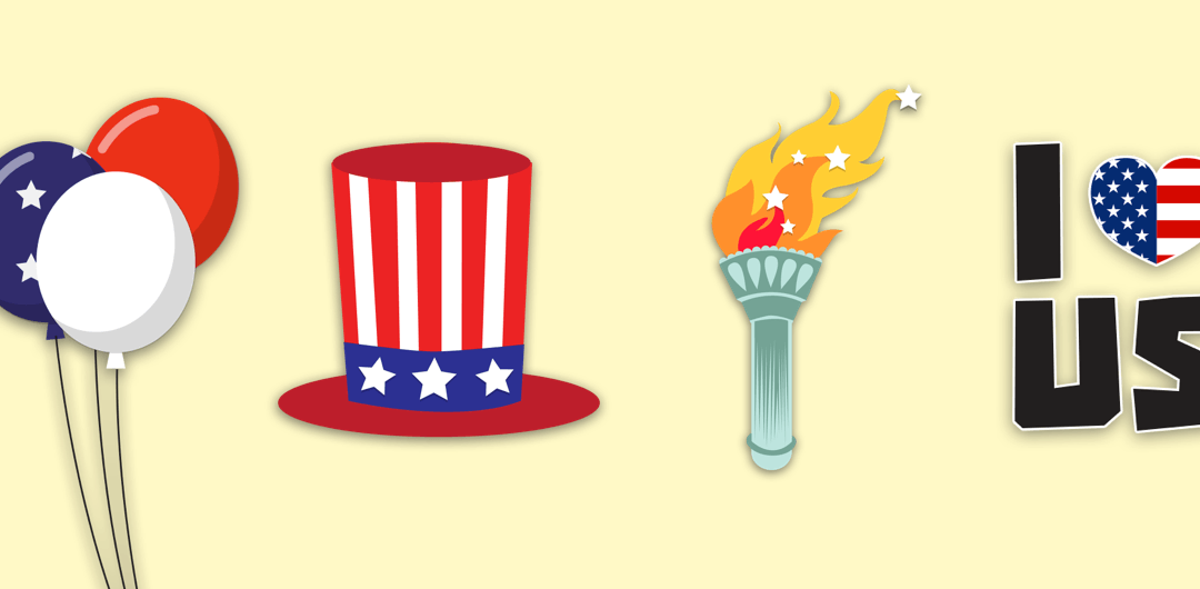 sticker: Independence Day image