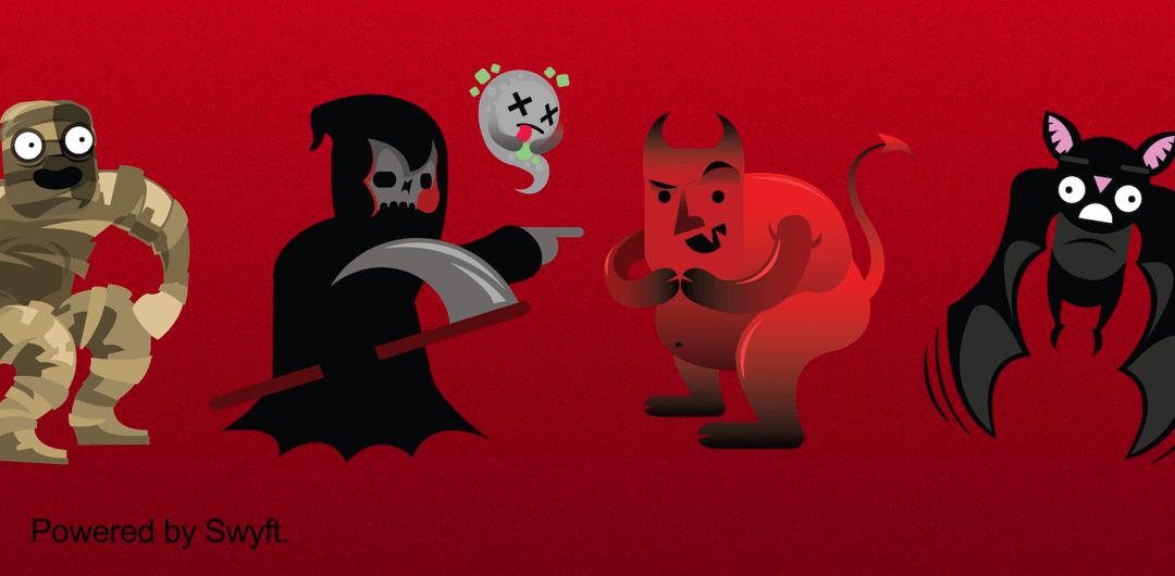 sticker: HalloweenMonsters image