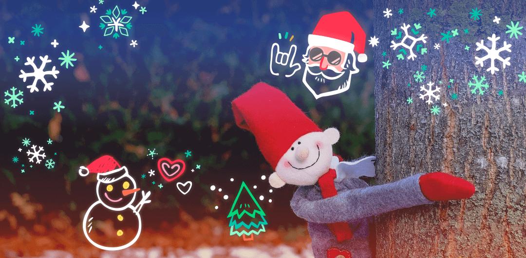 sticker: Christmas Deco image