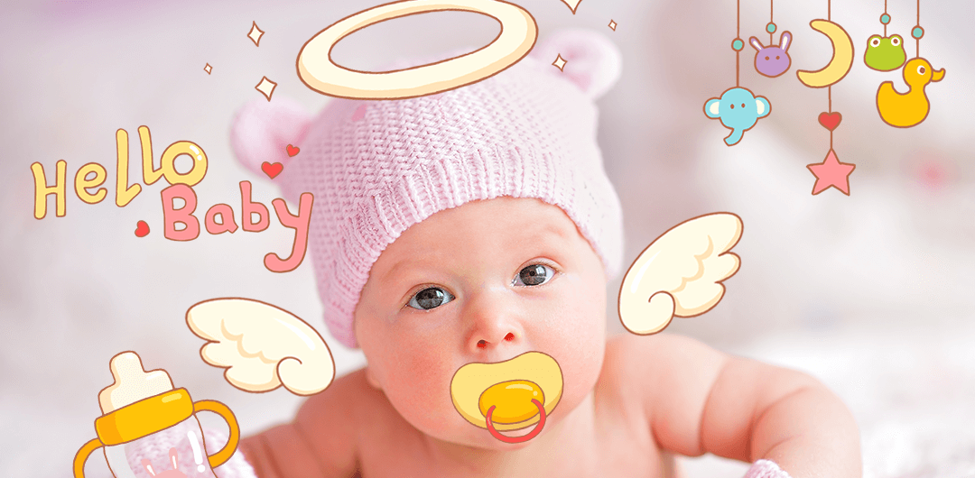 sticker: Baby Vibes image