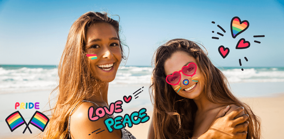 sticker: Rainbow Love image